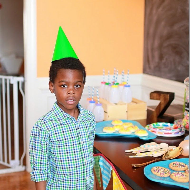 Zion's Color Me Happy 5th Birthday Party.