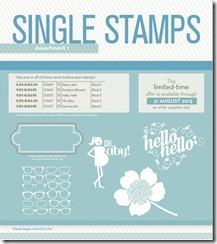 Single stamps 1 USE