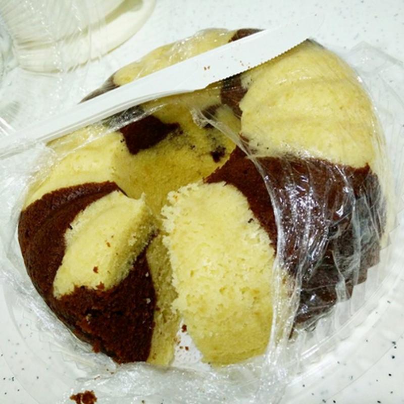 Kek Butter Marble Kukus untuk Qhaliff dan Zahra !