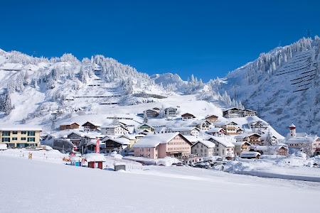 Statiune lux Austria: Arlberg Stuben