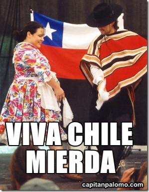 VIVA CHLE mierda 54