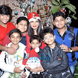 Rakhi Sawant spends Christmas with kids at home