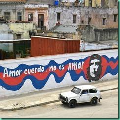 Havana 212, Amor cuerdo no es amor, Che Guevara, building construction in Cuba