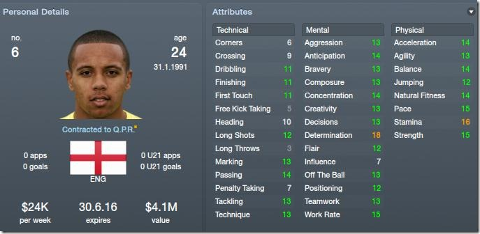 Korey Smith in FM 12