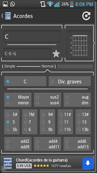 chord! free acordes