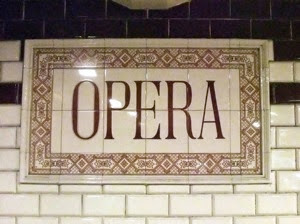 Opera Metro Sign