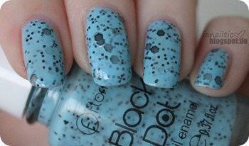 flormar bd04 black dot blau