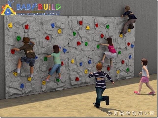 BabyBuild 攀岩遊戲設施