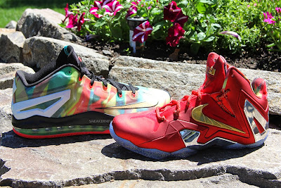 nike lebron 11 low pe championship pack 2 03 LBJ Wears LeBron 11 Low Championship Sample at His Skills Academy