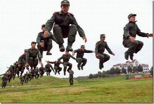 Fotos divertidas de soldados