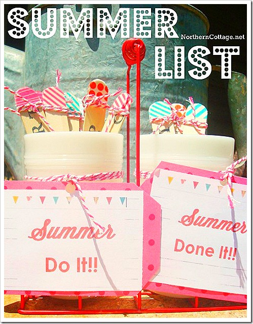 summer list northern cottage