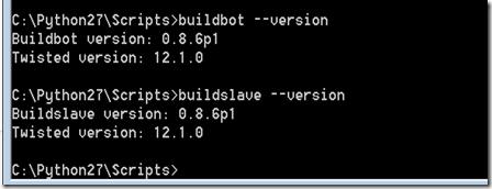 buildbotsetup