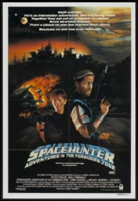 Spacehunter - Adventures in the Forbidden Zone - poster
