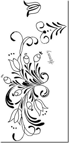 Tribal flores