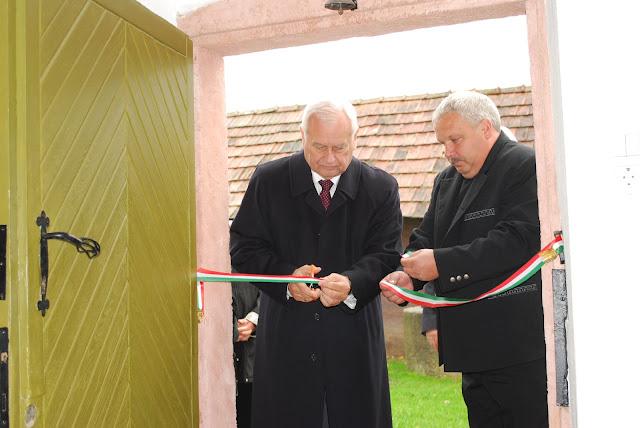 A penci múzeum ünnepélyes megnyitója