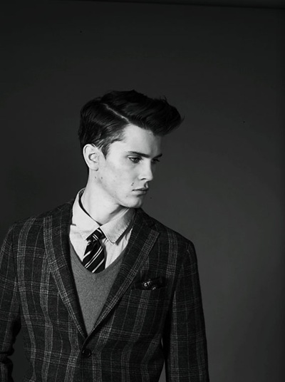 William Eustace by Jörgen Ringstrand for J Lindeberg F/W 2011