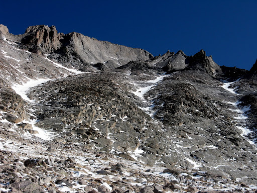 The Trough is the couloir to the left.