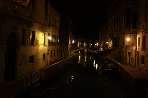 Venice at might was magical