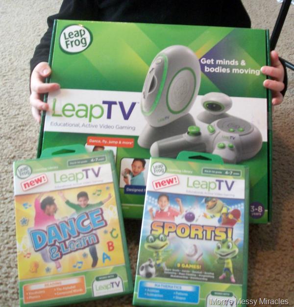 holding LeapTV
