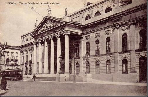 Teatro Nacional Almeida Garrett 1910.1