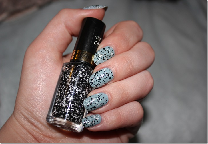 loreal confetti top coat