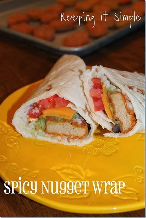 #ad spicy nugget wrap