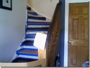 Stairs Staining 4