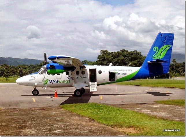 Maswings DHC6-400_Kinabatangan