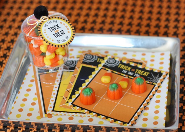 tic tac toe trick or treat