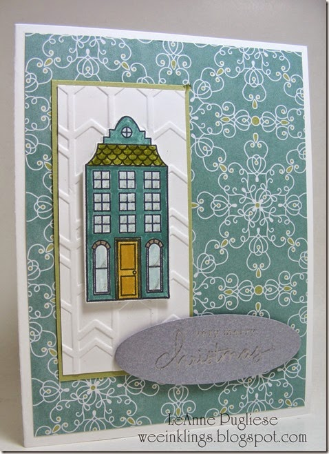 LeAnne Pugliese WeeInklings Holiday Home Stampin Up Endless Wishes