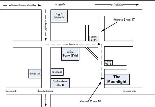 خريطة مون لايت