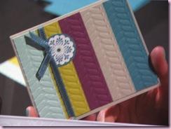 Vine Folder card