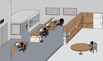 Screenshot of Stick Death Office
