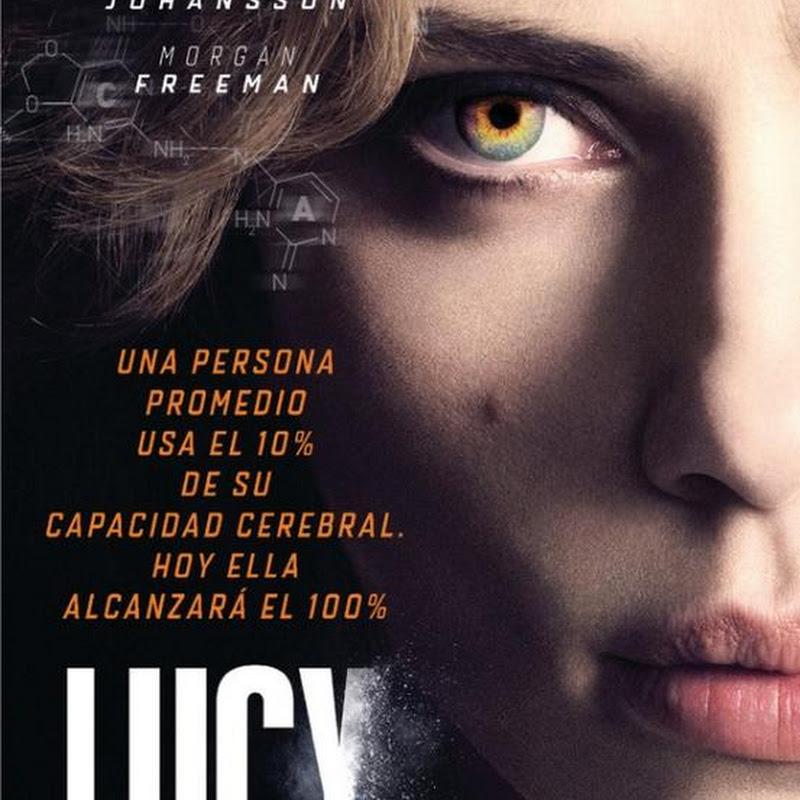 Lucy: Poster latino Argentina, fecha de estreno, afiche oficial: Dirigida por Luc Besson