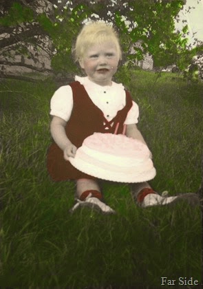 Connie Two years old 1953 (2)