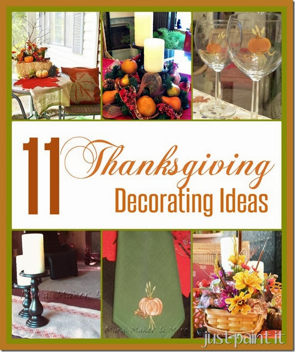 Eleven Thanksgiving Decorating Ideas