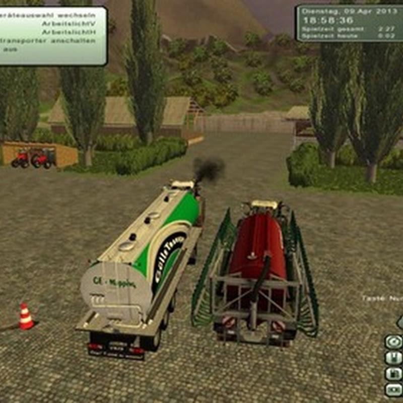 Farming simulator 2013 - Manure truck con Dolly Mod