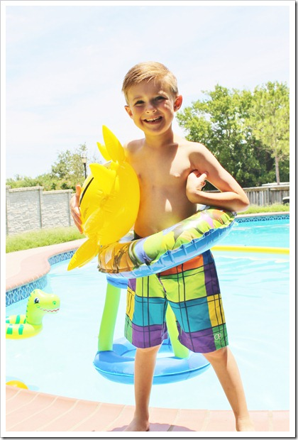 Swim Lessons & Last Day of School 073