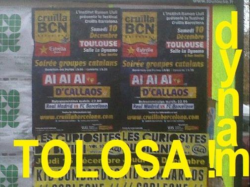 Dynamo Tolosa 10 decembre