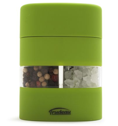 This petite salt and pepper shaker is easily portable in a picnic pack. (surlatable.com)