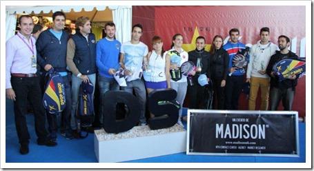 El International Padel Challenge by Madison se despide en Madrid hasta 2013.