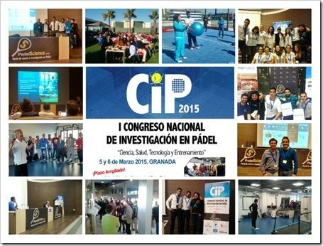 Finaliza con éxito el I Congreso Nacional de Investigación en Pádel Granada 2015.