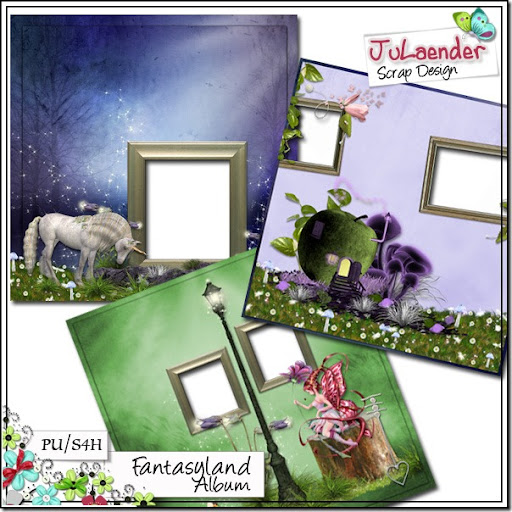"Freebie ""Fantasyland Album Quick Pages"" e um Presente Extra"