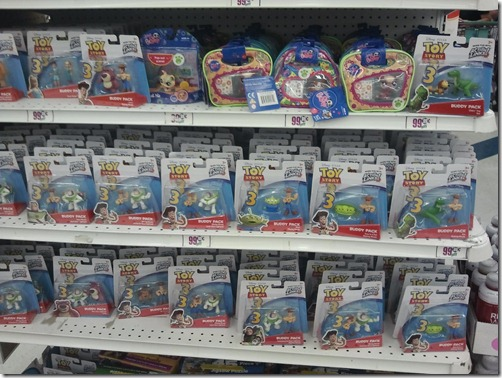 99 Cent Only Find Toys Story 3 Buddy Packs