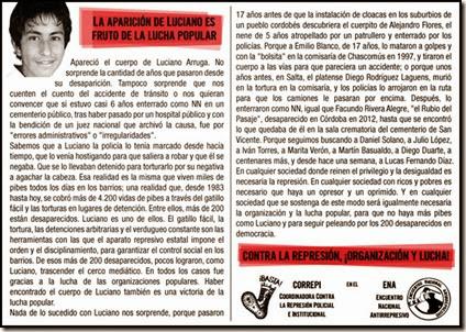 Aparicion Luciano - CORREPI 2
