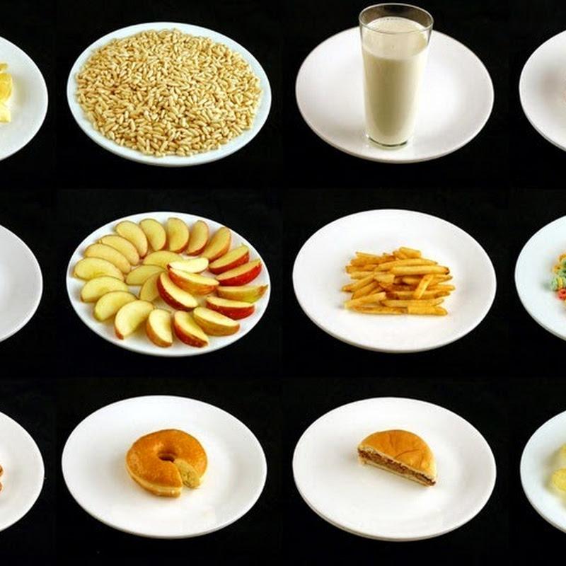 What 200 Calories of Food Look Like?