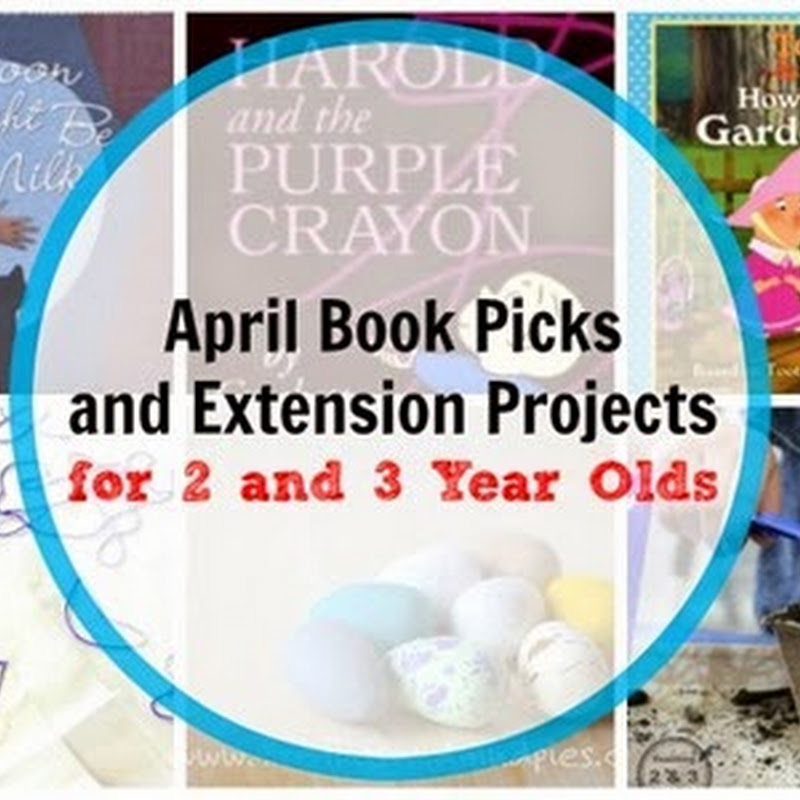 6 April Books for 2 and 3 Year Olds