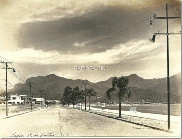 Avenida Epitácio Pessoa, Lagoa - Anos 30