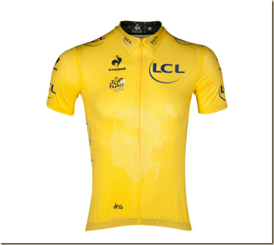 MAILLOT TOUR DE FRANCE - JAUNE