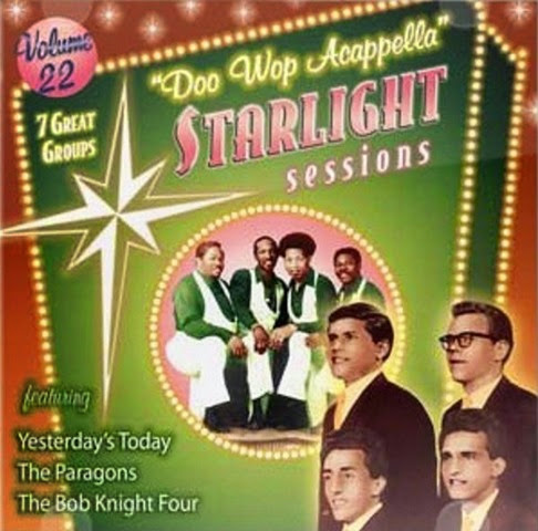 Doo Wop Acappella Starlight Sessions - Volume 22 - Front Cover